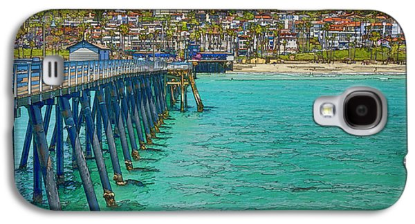 Sports Photographs Galaxy S4 Cases - San Clemente Pier Galaxy S4 Case by Joan Carroll