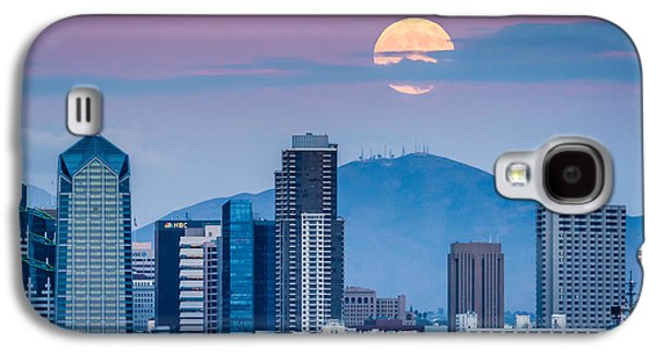 Recently Sold -  - Light Galaxy S4 Cases - San Diego Super Moonrise Galaxy S4 Case by Duane Miller