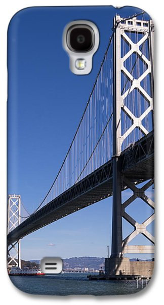 Landmarks Photographs Galaxy S4 Cases - San Francisco Bay Bridge at The Embarcadero DSC01854 Galaxy S4 Case by Wingsdomain Art and Photography