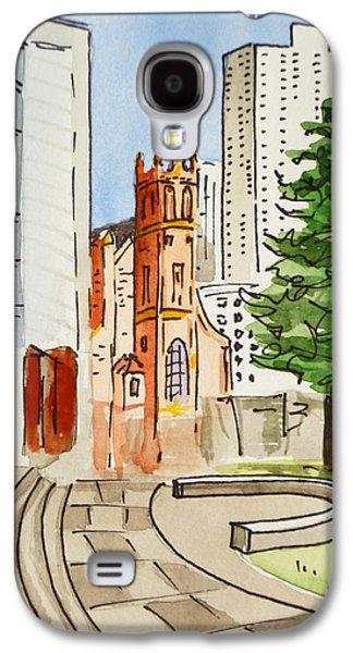 San Francisco - California Sketchbook Project Galaxy S4 Case by Irina Sztukowski