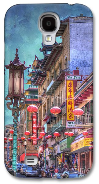 Downtown San Francisco Galaxy S4 Cases - San Francisco Chinatown Galaxy S4 Case by Juli Scalzi