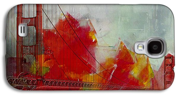 San Francisco Bay Galaxy S4 Cases - San Francisco City Collage Galaxy S4 Case by Corporate Art Task Force