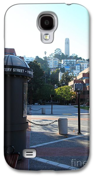 Levi Galaxy S4 Cases - San Francisco Coit Tower At Levis Plaza 5D26213 Galaxy S4 Case by Wingsdomain Art and Photography