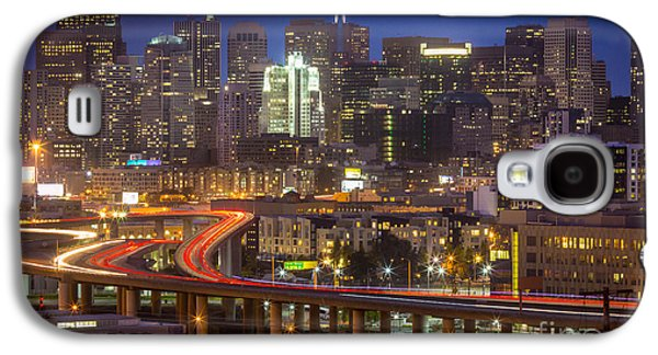 Californian Galaxy S4 Cases - San Francisco from Potrero Hill Galaxy S4 Case by Inge Johnsson