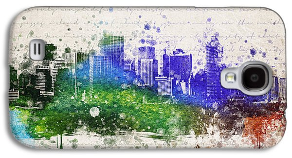 Downtown San Francisco Galaxy S4 Cases - San Francisco in Color Galaxy S4 Case by Aged Pixel