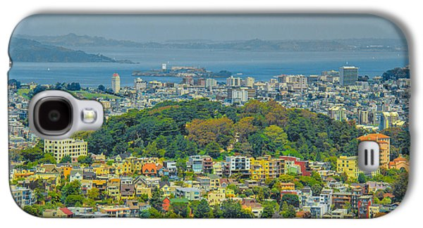Buildings By The Ocean Galaxy S4 Cases - San Francisco - Scenic Cityscape Galaxy S4 Case by Ben and Raisa Gertsberg