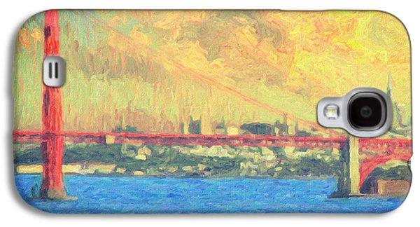 Baghdad Paintings Galaxy S4 Cases - San Francisco Galaxy S4 Case by Taylan Soyturk