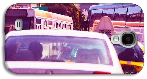Laura Wrede Galaxy S4 Cases - San Francisco Traffic Jam Galaxy S4 Case by Artist and Photographer Laura Wrede
