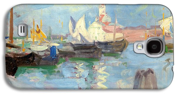 Water Vessels Paintings Galaxy S4 Cases - San Giorgio Maggiore  Venice Galaxy S4 Case by Francis Campbell Boileau Cadell
