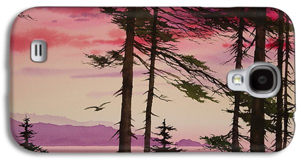Sunset Greeting Cards Galaxy S4 Cases - San Juan Sunset Galaxy S4 Case by James Williamson