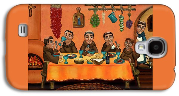 Artist Galaxy S4 Cases - San Pascuals Table Galaxy S4 Case by Victoria De Almeida
