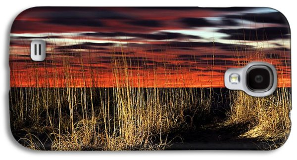 Sand Dunes Galaxy S4 Cases - Sand Dune Sunrise Galaxy S4 Case by JC Findley