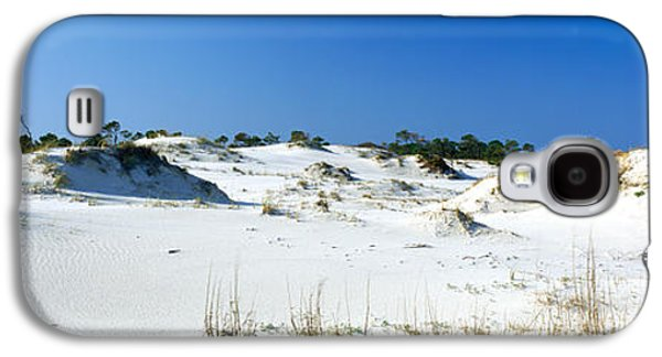 Florida Panhandle Galaxy S4 Cases - Sand Dunes In A Desert, St. George Galaxy S4 Case by Panoramic Images