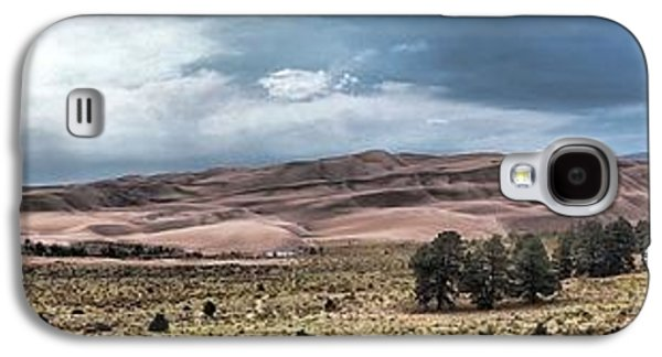 Landscape With Mountains Galaxy S4 Cases - Sand Dunes Panorama Galaxy S4 Case by Dan Sproul