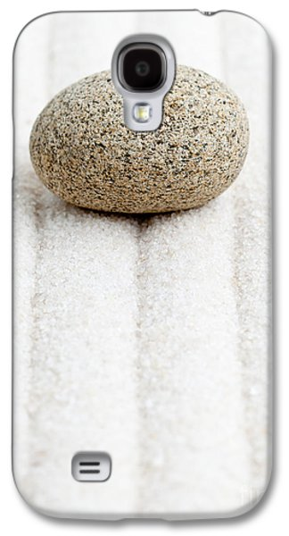 Garden Scene Sculptures Galaxy S4 Cases - Sand garden Galaxy S4 Case by Shawn Hempel