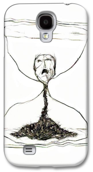 Dismay Galaxy S4 Cases - Sand Glass Galaxy S4 Case by Michal Boubin