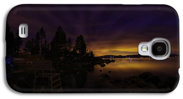 Astrophotography Galaxy S4 Cases - Sand Harbor Lake Tahoe Astrophotography Galaxy S4 Case by Scott McGuire