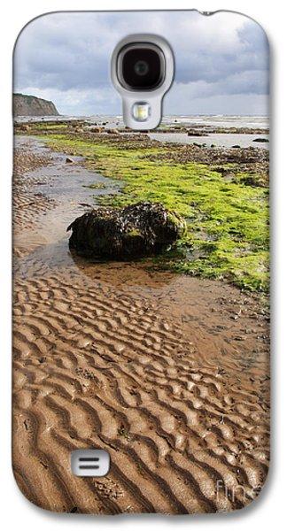 Recently Sold -  - Alga Galaxy S4 Cases - Sand patterns on Robin Hoods Bay beach Galaxy S4 Case by Deborah Benbrook
