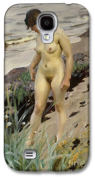 Sandhamn Study Galaxy S4 Case by Anders Leonard Zorn