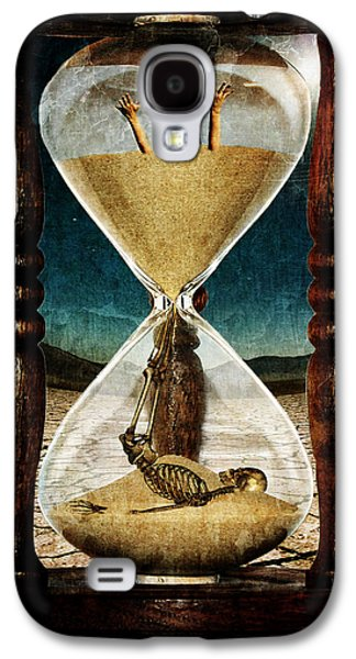 Photo Manipulation Mixed Media Galaxy S4 Cases - Sands of Time ... Memento Mori  Galaxy S4 Case by Marian Voicu