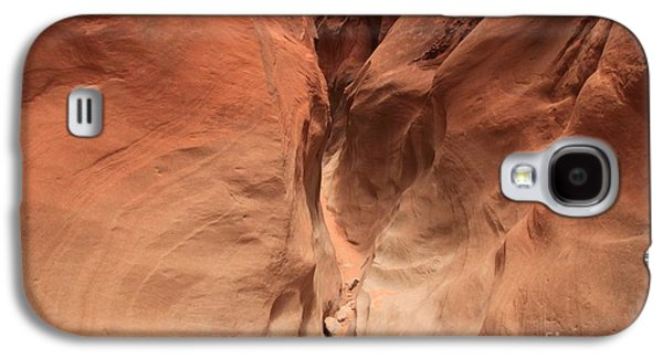 Holes In Sandstone Galaxy S4 Cases - Sandstone Abyss Galaxy S4 Case by Adam Jewell