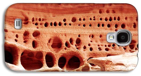 Abstract Nature Galaxy S4 Cases - Sandstone City Galaxy S4 Case by Aidan Moran