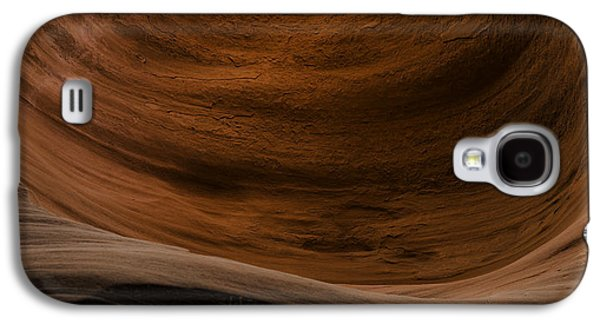 Flow Galaxy S4 Cases - Sandstone Flow Galaxy S4 Case by Chad Dutson