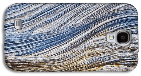 Geology Photographs Galaxy S4 Cases - Sandstone Strata Galaxy S4 Case by Tim Gainey