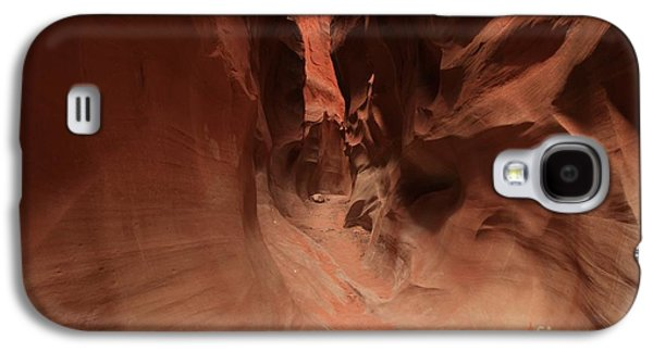 Holes In Sandstone Galaxy S4 Cases - Sandstone Twists And Turns Galaxy S4 Case by Adam Jewell