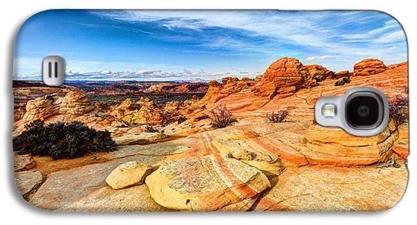 Outdoor Galaxy S4 Cases - Sandstone Wonders Galaxy S4 Case by Chad Dutson