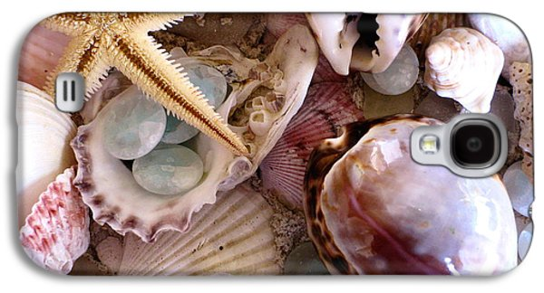 Best Sellers Photographs Galaxy S4 Cases - Sanibel Shells Galaxy S4 Case by Colleen Kammerer