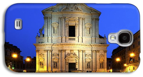 Rome Galaxy S4 Cases - Sant Andrea della Valle Galaxy S4 Case by Fabrizio Troiani