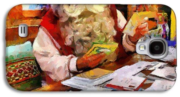 Buy Galaxy S4 Cases - Santa Claus Galaxy S4 Case by Georgi Dimitrov