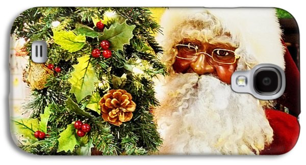 Elf Photographs Galaxy S4 Cases - Santa Claus Is Coming To Town Galaxy S4 Case by Luther   Fine Art