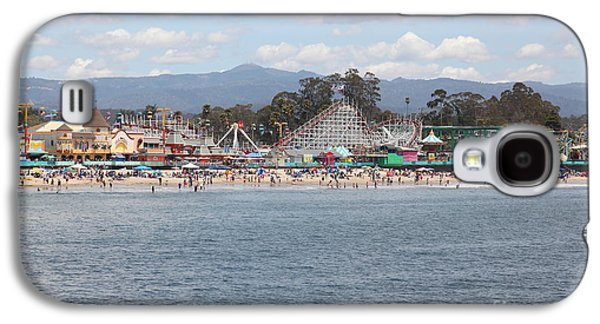 Santa Cruz Ca Galaxy S4 Cases - Santa Cruz Beach Boardwalk California 5D23799 Galaxy S4 Case by Wingsdomain Art and Photography