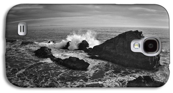 Steamer Lane Galaxy S4 Cases - Santa Cruz Coastline Galaxy S4 Case by Richard Cheski