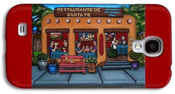 Chip Galaxy S4 Cases - Santa Fe Restaurant Galaxy S4 Case by Victoria De Almeida
