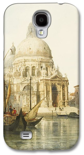 Best Sellers -  - Religious Drawings Galaxy S4 Cases - Santa Maria della Salute Galaxy S4 Case by Jacques Guiaud