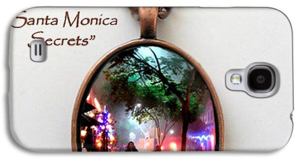 Colorful Jewelry Galaxy S4 Cases - Santa Monica Secrets-Custom Pendant Galaxy S4 Case by Jennie Breeze