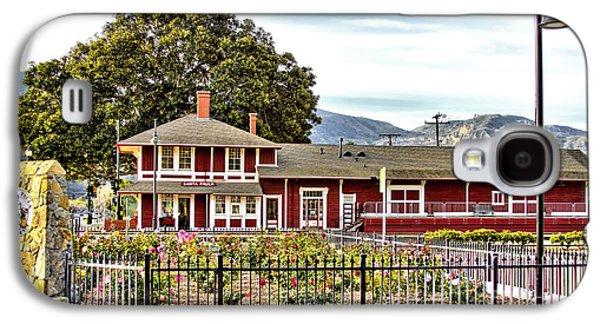 Museum And Gift Shop Galaxy S4 Cases - Santa Paula Train Station Galaxy S4 Case by Jason Abando