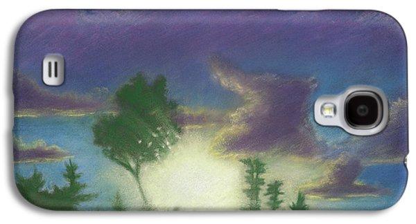 Skylines Pastels Galaxy S4 Cases - Santee Sunset 02 Galaxy S4 Case by Michael Heikkinen