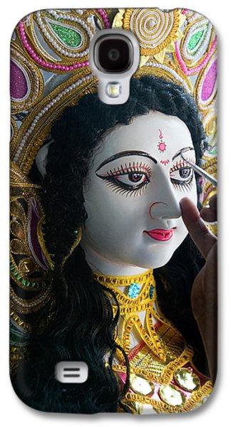 Sarasvati (female Hindu God Galaxy S4 Case by Peter Adams