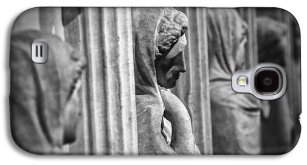 Greek Sculpture Galaxy S4 Cases - Sarcophagus of the crying women Galaxy S4 Case by Taylan Soyturk