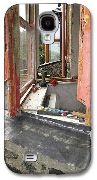 Sash Window Refurbishment Galaxy S4 Case by Cordelia Molloy