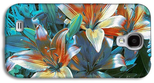 Abstract Digital Photographs Galaxy S4 Cases - Satin Galaxy S4 Case by Kathleen Struckle