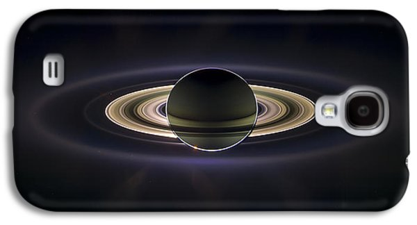 Outer Space Photographs Galaxy S4 Cases - Saturn Galaxy S4 Case by Adam Romanowicz
