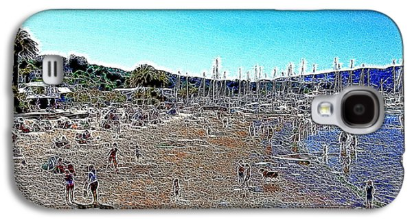 Sausalito Galaxy S4 Cases - Sausalito Beach Sausalito California 5D22696 Artwork Galaxy S4 Case by Wingsdomain Art and Photography