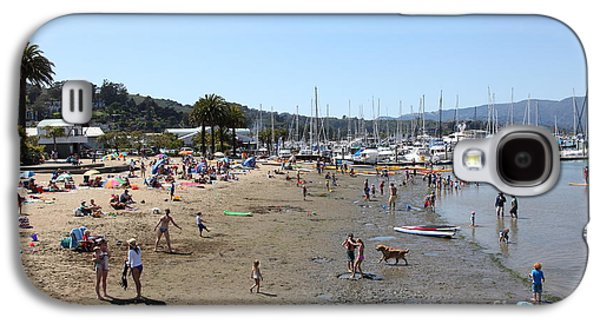 Sausalito Galaxy S4 Cases - Sausalito Beach Sausalito California 5D22696 Galaxy S4 Case by Wingsdomain Art and Photography