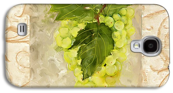 Fruit And Wine Galaxy S4 Cases - Sauvignon Blanc Galaxy S4 Case by Lourry Legarde