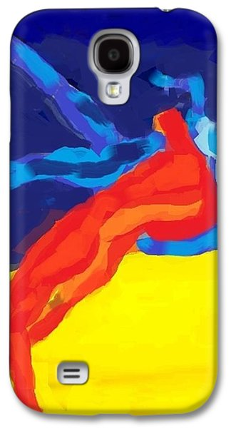 Sweating Digital Galaxy S4 Cases - Save olympic wrestling Galaxy S4 Case by Hilde Widerberg